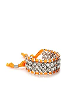 Rolf Bleu Montana Bold Adjustable Bracelet (Neon Orange)
