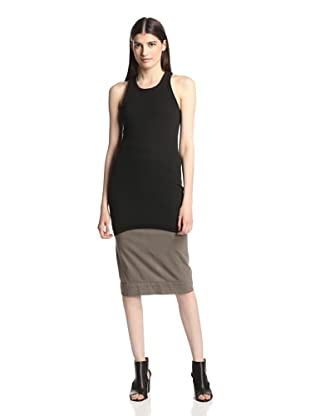 Rick Owens DRKSHDW Women's Ribbed Tank Top (Black)