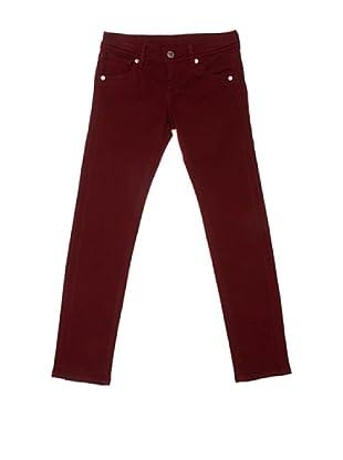 Pepe Jeans London Pantalón Brooker (Granate)