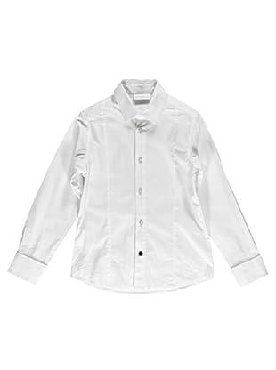 Camisa Stretch Slim (Blanco)