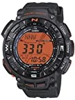 Casio Digital Orange Dial Men's Watch - PRG-240-8DR