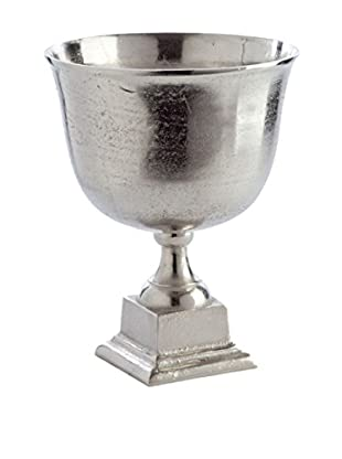 Napa Home and Garden Large Halston Trophy Urn, Silver