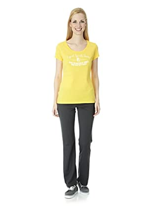 ESPRIT SPORTS Damen T-Shirt (Gelb)