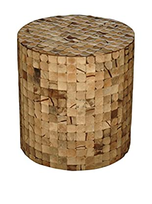 Jeffan Juliette Coco End Table, Natural Bliss