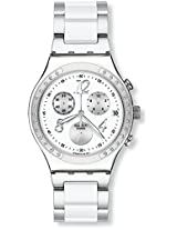 Swatch Dreamwhite YCS511G Chronograph Watch - For Men