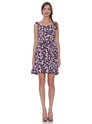 Siyu Kleid Tupfen (Violett)