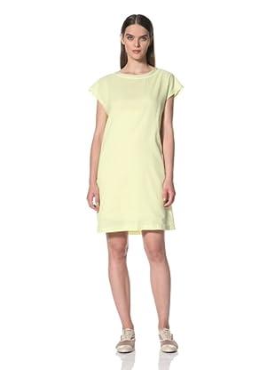 JIL SANDER NAVY Women's Cotton Sleeveless Dress (Yellow)