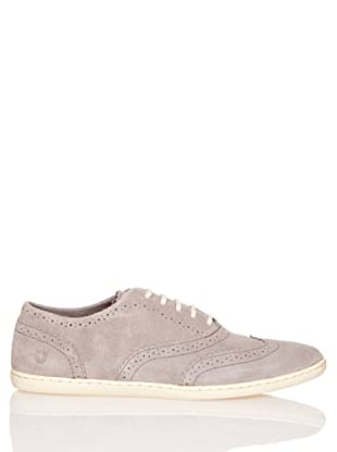 Fred Perry Zapatos Moore Suede Cloudburst (Gris)