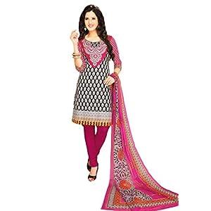 Salwar Studio MCM-4564 Unstitched Churidar Kameez - Pink