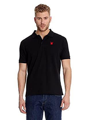 Polo Club Poloshirt Custom Fit Escudo Liso