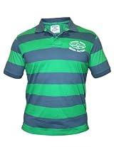 Wrangler Men Green & Blue T Shirts
