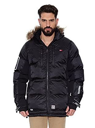 Geographical Norway Abrigo Corto Dumbo Men (Negro / Negro)