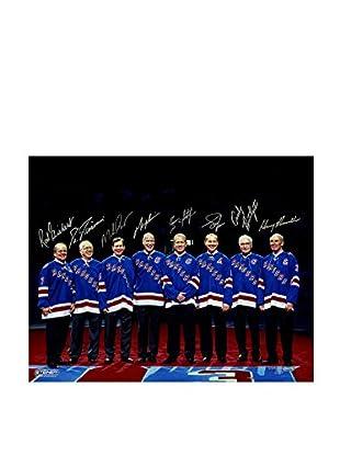 Steiner Sports Memorabilia New York Rangers Legends Multi Signed Photo, 16