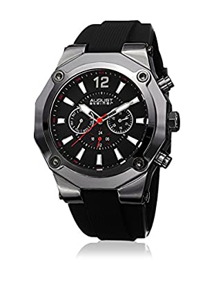 August Steiner Reloj con movimiento cuarzo suizo Man AS8080BK  51 mm