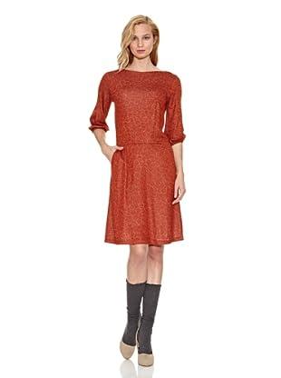 Siyu Vestido Aros (Rojo / Amarillo)