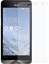 ASCENSION FOR Asus Zenfone 5 Scratch Guard Screen Protector with cleaning cloth