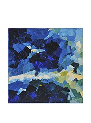 Surya Black and Blue Water Color, Multi, 40