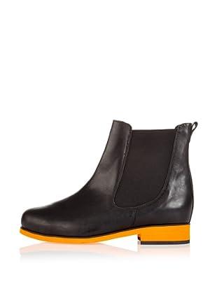 Loft37 Chelsea Boot Rock Rain (schwarz, orange)