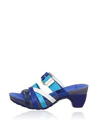 Think Pantolette Traudi (Blau)