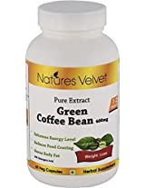 Natures Velvet Green Coffee Bean, 400 Mg (Veg), 60 Capsules