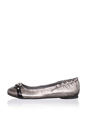 J. Loren Kids Marsha Dress Shoe (Pewter)