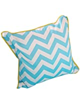 Caden Lane Square Pillow, Gray Bright Baby