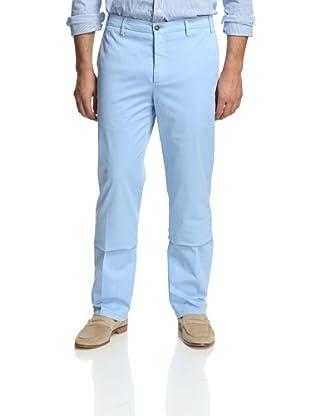 Zanella Men's Casual Pant (Blue)