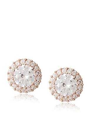 CZ By Kenneth Jay Lane Pavé Round Post Earrings