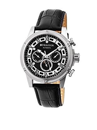 Heritor Automatic Uhr Kinser Herhr2602 schwarz 49  mm