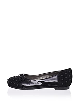 Pliner Jrs Faith Ballet Flat (Black)