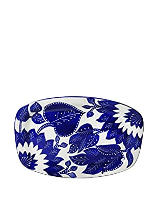 Le Souk Ceramique Jinane Rectangular Platter, Blue/White