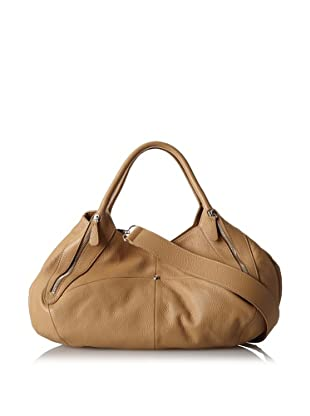 Charles Jourdan Women's Jade Satchel (Tan)