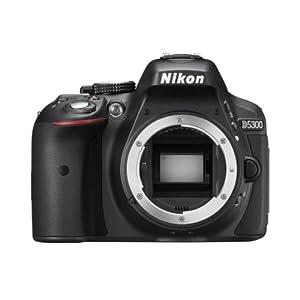 Nikon D5300 24.1 MP Digital still Camera (Black) with Body Only, 8GB Card and Camera Bag