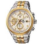 Casio Edifice EF-556SG-7AVDF Chronograph Tow Tone Analog Mens Watch