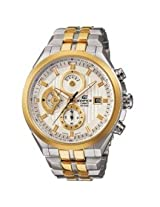 Casio Edifice EF-556SG-7AVDF Chronograph Tow Tone Analog Mens Watch