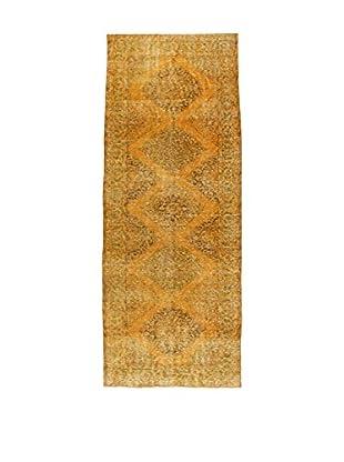 Design Community By Loomier Teppich Anatolian Vintage ocker 142 x 363 cm
