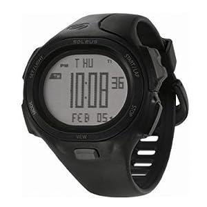 Soleus SR008 PR Running Watch - Black
