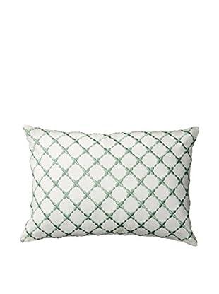 laura ashley melinda pillow ivory green
