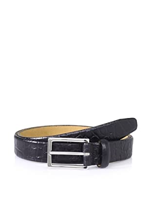 The British Belt Company Men's Egleton Belt (Black)