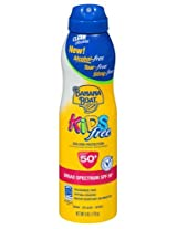 Banana Boat Continuous Spf#50+ Spray Kids 6oz (Tear-free)