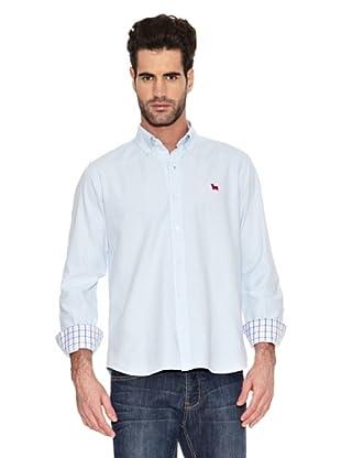 Toro Camisa Tejido Oxford (Celeste)