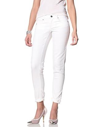 SOLD Denim Women's Spring Street Skinny Jeans (White)