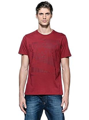Diesel Camiseta T-Alabarda-R (Rojo)