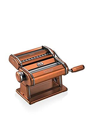 Marcato Atlas 150 Pasta Maker with a Brushed Finish, Copper