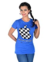 Vivaa Hi Fashion Pure Cotton T-shirt For Woman
