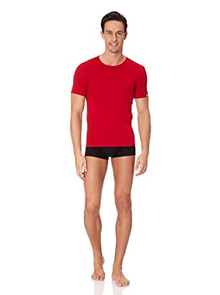 Jolidon Camiseta manga corta Hombre basic (Rojo)