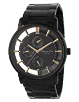 Kenneth Cole Analog Black Dial Men's Watch - IKC9222