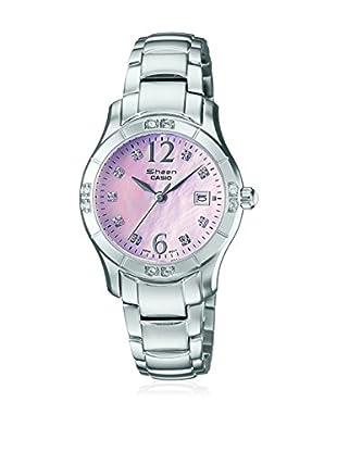 Casio Uhr mit japanischem Uhrwerk Woman SHE-4019DP-4A 36 mm