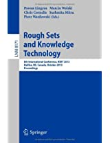 Rough Sets and Knowledge Technology: 8th International Conference, RSKT 2013, Halifax, NS, Canada, October 11-14, 2013, Proceedings (Lecture Notes in ... / Lecture Notes in Artificial Intelligence)