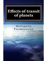 Effects of Transit of Planets: Malayalam / Jyotisham / Phaladeepika: 24 (Mullappilly Parameswaran Books)